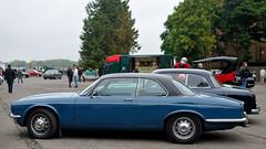 6th Sunday Brunch Scramble - Bicester Heritage - 20th September 2015 - Daimler Coupe (Trackside70) Tags: heritage classic cars sunday brunch coupe daimler scramble bicester bl 2015 xjc worldcars nikkor35mmf18 nikond300s