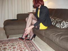 Saturday night out. Yellow Dress (dianalondontv) Tags: sexy cum stockings sex female naughty erotic highheels legs slut feminine gorgeous arse mini erotica tights sensual redhead tgirl transgender nails tranny transvestite heels hosiery manicure horny tease elegant trans suspenders stiletto stilettoheels tart transexual miniskirt pantyhose arousing nylon pleasure teasing leggy slutty anklet stilettos longlegs nylons elegance decadent rednails tarty minidress longnails manicured seams stilletos louboutin cocktease beautifullegs anklebracelet tightskirt stockingtops anklechain tvslut suspenderbelt tgurl fullyfashionedstockings ffstockings louboutins sussies redsoles naughtytease sokate expensivehosiery