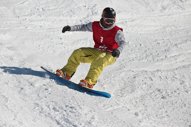DB Export Banked Slalom 2015 - Treble Cone - Barbora Bobuklova