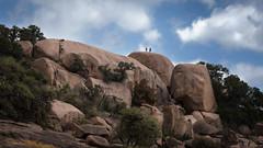 Hikers at Enchanted Rock State Park (slange789) Tags: park rock state enchanted enchantedrockstatepark