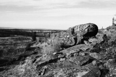 (Some Kind of Artist) Tags: blackandwhite film landscapes war pennsylvania minoltax700 gettysburg civil battlefield littleroundtop fujineopanacros epson4490 epsonperfection4490
