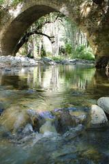 Hollow stream (msiapan) Tags: bridge stone stream cyprus venetian paphos    tzielefos
