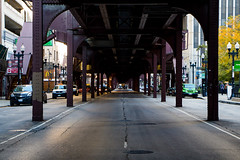 Straight shots (aerojad) Tags: chicago theloop traintrack thel openhousechicago openhousechicago2015