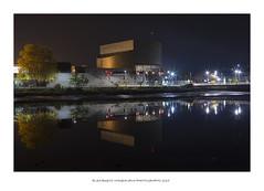 Pazo da Cultura (PITUSA 2) Tags: rio luces edificio galicia auditorio nocturna otoño calma pontevedra reflejos pazodacultura pitusa2 elsabustomagdalena
