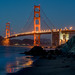 Early Evening at San Francisco's Marshall Beach