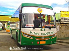 Add-ons BS106 for Baliwag - Grace Park route. (PBF-Mr. Beeboy 901) Tags: bti 1538 baliwagtransitinc srcityliner santarosamotorworksinc daewoobs106 de08tis
