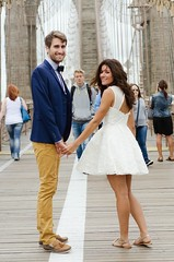 Cythia & Jeremie (Melissa Segal) Tags: new york nyc cute love french couple honeymoon married sweet adorable