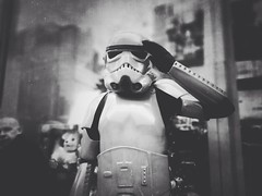 Yes my Lord! (Rob Pearson-Wright) Tags: street bw london starwars candid streetphotography stormtrooper