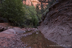 """Creek flowing from Kolob Arch canyon • <a style=""""font-size:0.8em;"""" href=""""http://www.flickr.com/photos/63501323@N07/22790883457/"""" target=""""_blank"""">View on Flickr</a>"""