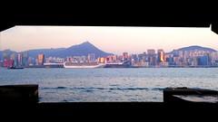 Sunset (Kowloon Bay) (Jeff_156) Tags: sunset hongkong kowloonbay kaitakcruiseterminal