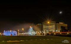 Zagrebake fontane 18.11.2015. (Milan Z81) Tags: longexposure fountain night croatia zagreb hrvatska no fontane vukovar golubica milanz81 dansjeanja