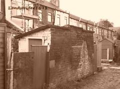 1890s Toilet (Landstrider1691) Tags: victorian toilet stoneroof 1890s privy cobbledstreet terracedhouses outsidetoilet backtobacktoilets