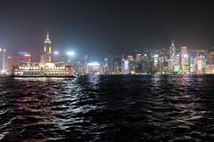 Hong Kong Fall 2015 (RaymondCYLeung) Tags: night hongkong victoriaharbor