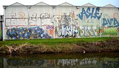 graffiti amsterdam (wojofoto) Tags: graffiti amsterdam wojofoto wolfgangjosten asle templ skee aize wish sub dvs nederland netherland holland