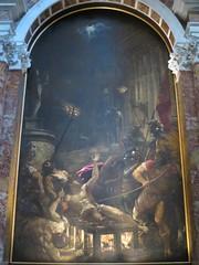 Le Martyre de Saint Laurent (1558), Titien - Eglise I Gesuiti, Santa Maria Assunta, Venise (Yvette Gauthier) Tags: peinture tableau venise venezia glise saintlaurent italie titien santamariaassunta igesuiti