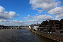 045 (gil.moers) Tags: maastricht brug maas hoge hoeg oeverwal fietsersbrug brök