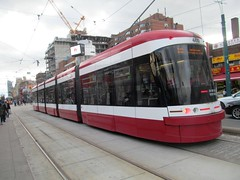 TTC 2015 Bombardier Flexity Outlook #4410 (Views from the Seven Photography) Tags: new toronto downtown chinatown ttc tourist destination spadina dundas avenue streetcars blogto