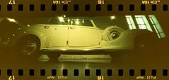 vintage car (pho-Tony) Tags: camera film 35mm xpro crossprocessed fuji cross slide panoramic ishootfilm holes pinhole velvia homemade analogue domino 50 expired processed e6 malaga estenopeica sprocket stenope fujivelvia c41 homemadecamera 23mm filmisnotdead pinholecameras tetenal f99 estenopo dominocam dominopinhole