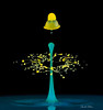 _MG_9660-Triple-collsion-with-double-hat (Carol Cohn) Tags: macro water droplets drops splash waterdrops liquid fluiddynamics watersculpture highspeedphotography splashingwater liquidsculpture splashart splashphotography