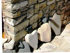 heart of stone (s_lverspring) Tags: light shadow art nature wall ancient gallery row line straight shape proportion aligned