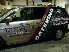 Signarama Fond du Lac, WI | Vehicle Graphics | Goose Blind Van