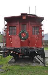 Coeburn, Virginia (3 of 6) (Bob McGilvray Jr.) Tags: park railroad red public train virginia nw display steel tracks caboose va cupola norfolkwestern nickelplateroad nkp coeburn justinscaboose