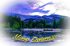 Merry Christmas Everyone (Brian Travelling) Tags: merrychristmas christmas card design winter scotland