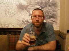 P7230110 (rugby#9) Tags: betwsycoed gwynedd northwales wales uk unitedkingdom cymru blueshirt shirt blue cushion bitter blacksheep beer glass people