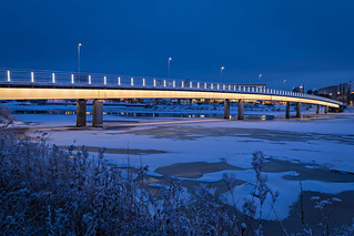 Pikisaarensilta in City of Oulu