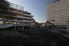 Cut (DunkelziffR) Tags: bonncenter building abriss demolition bonn 2016 gebäude architektur architecture