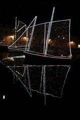 """VANNES BY NIGHT""""EXPLORE"""" (Marie-Laure Larère) Tags: vannes bretagne bateau voilier nuit reflet explore"""
