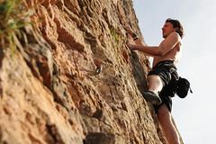 Climbing | Vergisson | France (Xavier Metral) Tags: climbing escalade vergisson nature