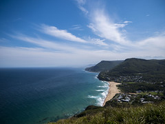 . (STGM81) Tags: bald hill observation lookout australia nsw beach coast landscape seascape water sea sand mountain m43 panasonic lumix panasonicg85 g85 cloud outdoor shore seaside sky