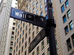 New York Sign (andrew.dolman.188) Tags: post usa america newyork wallst broadway manhattan olympus