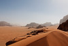 View East of Wadi Rum (MilesTravelPics) Tags: jordan 70d desert travel middle east bedouin wadi rum red sand dune
