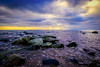 Lilleskog Ystad (JO-Design.se) Tags: ystad sea water stones sky