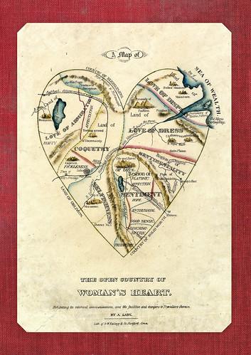 9603-Carnet // 15x21 // Woman's Heart
