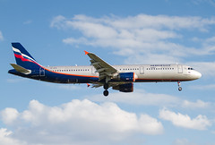 VP-BTG Airbus A321-211 Aeroflot