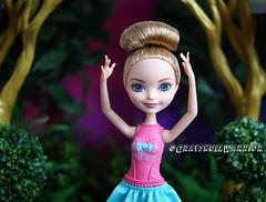 Ballet Ashlynn Ella. #ballet #ashlynnella #ashlynn #everafterhigh (Grayskull Warrior) Tags: ballet ashlynnella ashlynn everafterhigh