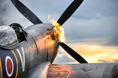 (aeroman3) Tags: royalairforce rafmf memorialflight spitfire te311 fire hotstart raf equipment aircraft propeller competition photography photographic rafconingsby lincolnshire unitedkingdom uk