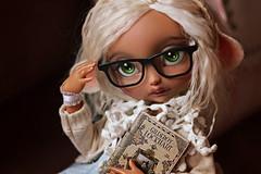☆ Potterhead ☆ (Shimiro Kestrel) Tags: bjd doll poulpy cerisedolls lillycat bjdphotography bjdportrait bjdcustom dollphotography cute kawaii geek potterhead harrypotter fawn