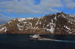 IMG_7833_Burin Sea in Narrows2 (daveg1717) Tags: burinsea signalhill cabottower thenarrows winter stjohns newfoundlandlabrador ships