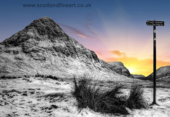 The Path Glencoe (Scotland Fine Art) Tags: beagetive glen glencoe scotland scotlandcanvas scotlandwestcoast scottishmountain scottishwinter snow snowcover winterscene