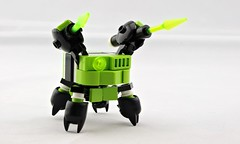 Twank Mantis (Deltassius) Tags: frame mech mecha insect twank robot mobile zero lego space microscale