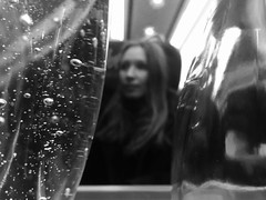 You Go To My Head (sjpowermac) Tags: bubbles champagne head love desire refrain haunting beautiful spinning glass bottle woman railway train 1n34 carriage watching hair linger brain 91132 yougotomyhead bokeh 117thsec 125mph