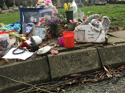 66/365 Ian Curtis memorial stone (replacement from 2008)