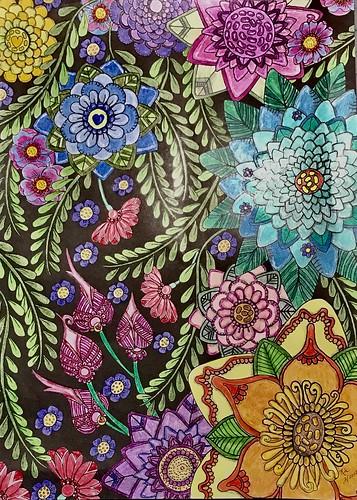 Magical Mehndi Designs Coloring Book 3