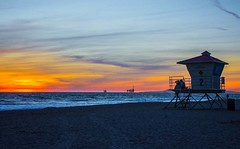 Watching The Sunset From Tower 2 #sunset #hb #huntingtonbeach #hbsunset #hbsunsets @huntington_beach #lifeguardtower #beach #orangecounty #theoc (FilmAndPixels) Tags: ifttt instagram sunset hb huntingtonbeach orangecounty lifeguard lifeguardtower