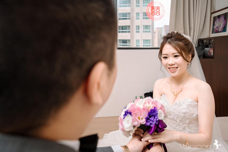 《婚攝加菲》邦寧 & 家蓁 / 長春素食餐廳