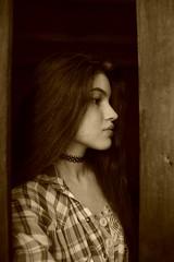 (Agata Sissi) Tags: girl sepia choker